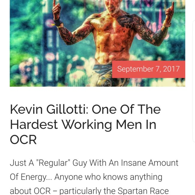 Kevin Gillotti - Media