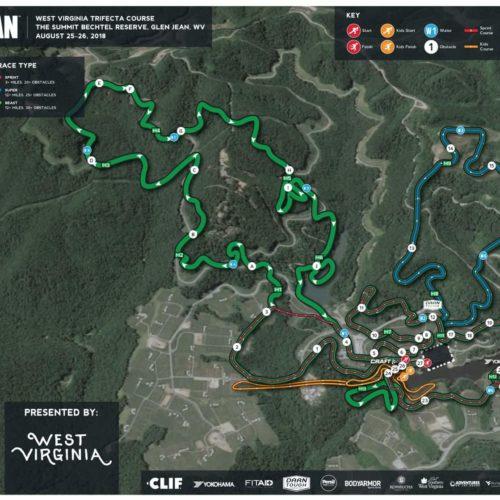 Kevin Gillotti - Spartan Race Course Maps